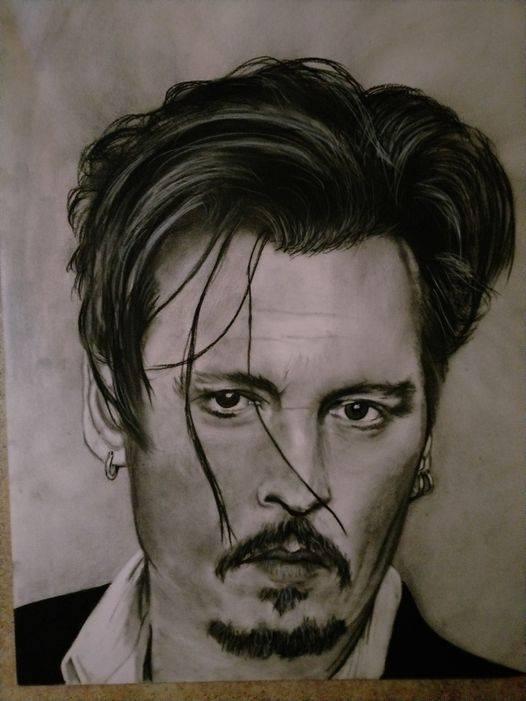 Johnny Depp by KituC